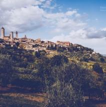 San Gimignano (Toskana, Italien)
