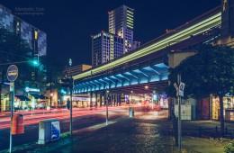 Berlin – City West / Bahnbrücke Kantstrasse