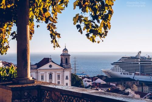 Lissabon – Miradouro de Santa Luzia