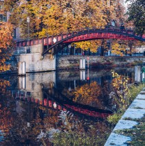 Berlin – Hiroshima Footbridge / Landwehr Canal