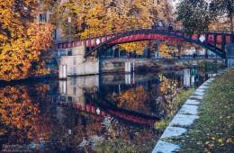 Berlin – Hiroshima Footbridge / Landwehr Canal