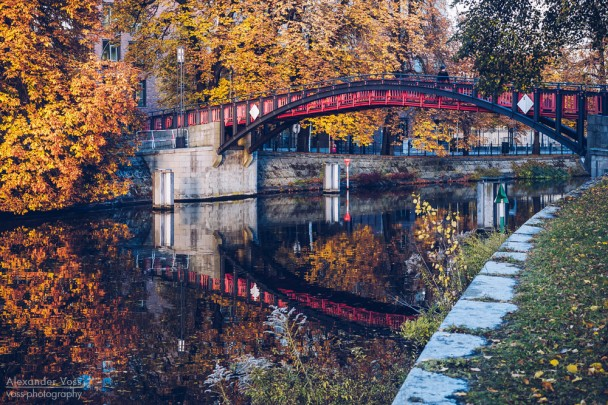 Berlin - Hiroshimasteg / Landwehrkanal