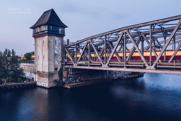 Berlin - Ringbahnbrücke Oberspree