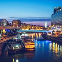 Wien – Donaukanal / Franz-Josefs-Kai