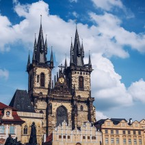 Prague – Týn Church