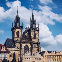 Prag – Teynkirche