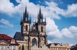 Prague – Týn Church