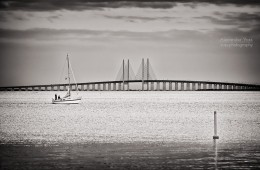 Black and White Photography: Øresund Bridge
