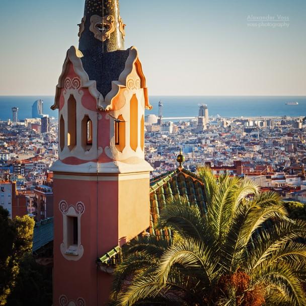 Barcelona Skyline / Park Güell
