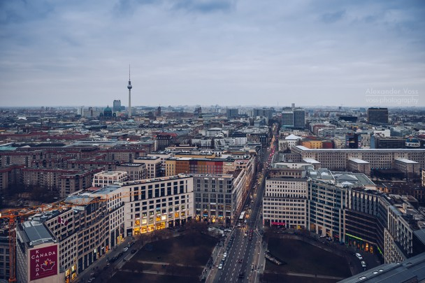 Berlin - Leipziger Platz Skyline