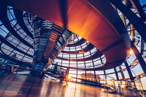 Berlin – Reichstagskuppel