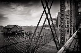 Black and White Photography: Boston – Northern Avenue Bridge