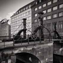 Black and White Photography: Berlin – Jungfern Bridge