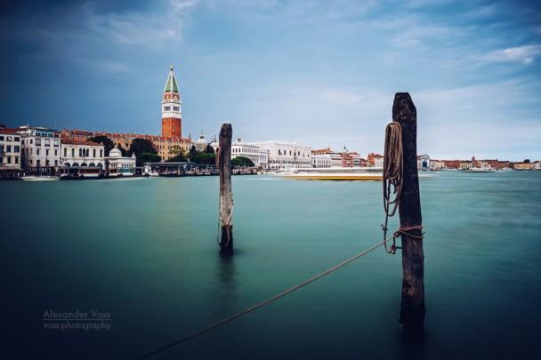Venedig - Bacino di San Marco (Langzeitbelichtung)