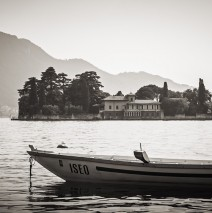 Black and White Photography: Lake Iseo (Italy)