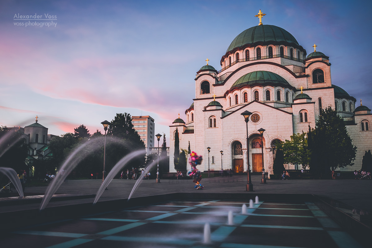 Belgrade – Church of Saint Sava