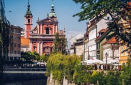 Ljubljana – Franziskanerkirche