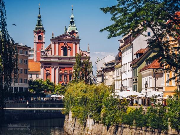 Ljubljana - Franziskanerkirche