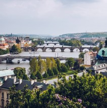 Prague – View over the Vltava River