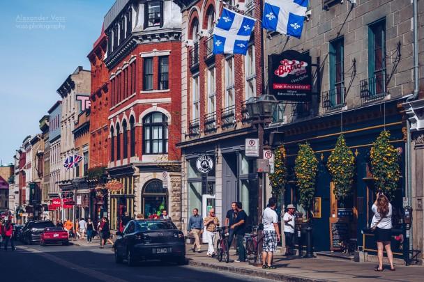 Québec - Rue Saint-Jean
