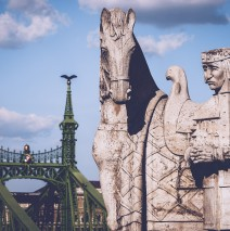 Budapest – Saint Stephen Monument / Freedom Bridge