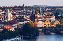 Prager Altstadt / Moldau-Ufer