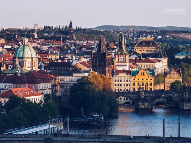 Prague Old Town / Vltava River