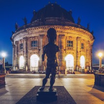 Berlin – Bode Museum at Night
