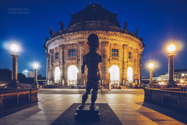 Berlin - Bode Museum at Night