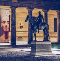 Berlin Museum Island – Colonnade Courtyard at Night