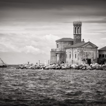Black and White Photography: Piran (Slovenia)