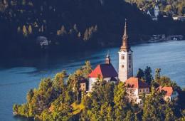 Slowenien – Bleder See