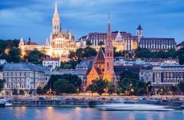 Budapest Skyline / Fischerbastei