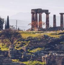 Ancient Corinth – Temple of Apollo (Peloponnese, Greece)