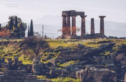 Ancient Corinth – Temple of Apollo (Peloponnese, Greece)