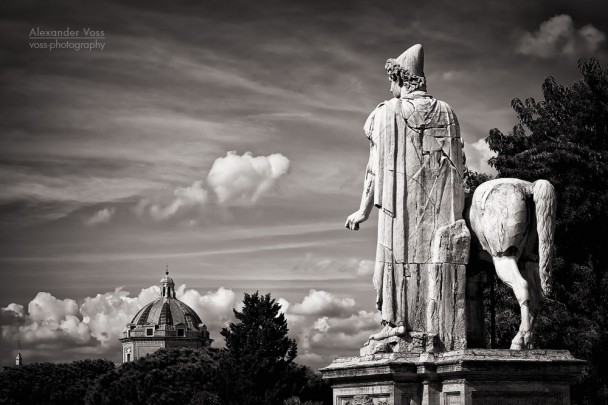 Black and White Photography: Rome - Capitoline Hill