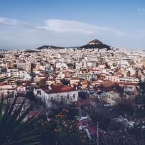 Athen – Lykabettus Skyline