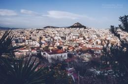 Athens – Lycabettus Skyline