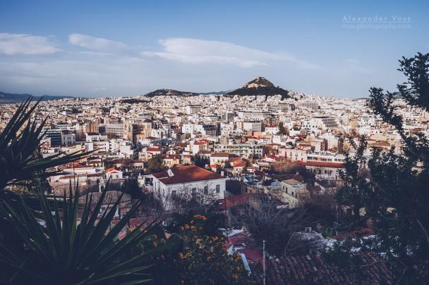 Athens - Lycabettus Skyline