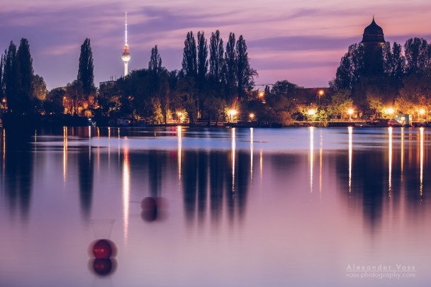 Berlin - Skyline Rummelsburger Bucht