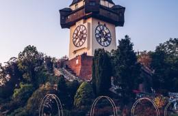 Clock Tower of Graz (Austria)