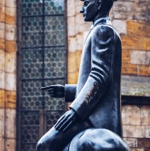 Prague – Statue of Franz Kafka