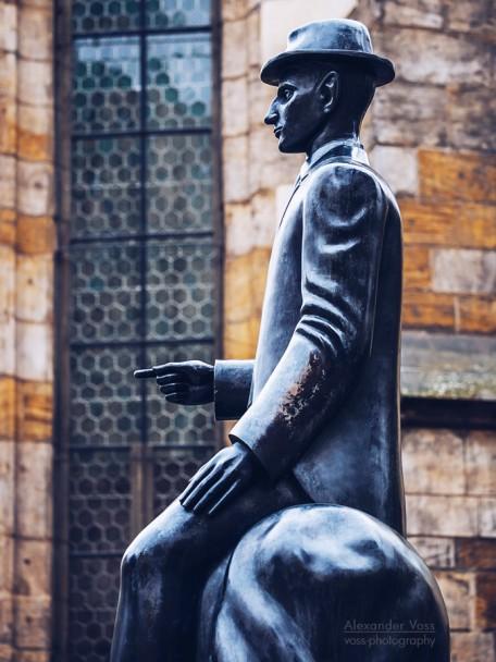 Prague - Statue of Franz Kafka