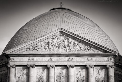 Black and White Photography: Berlin – St. Hedwig's Cathedral
