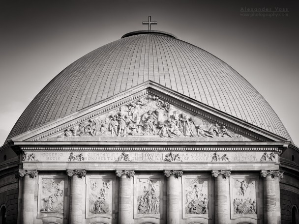 Black and White Photography: Berlin - St. Hedwig's Cathedral
