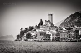 Black and White Photography: Malcesine / Lake Garda