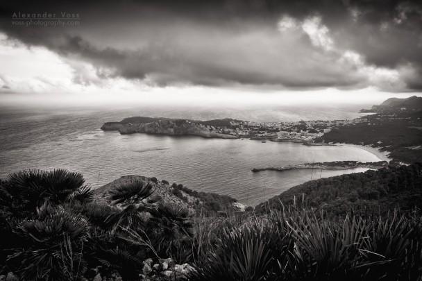 Black and White Photography: Majorca - Cala Rajada