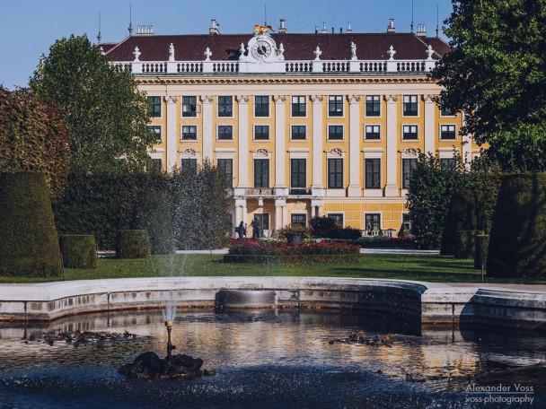 Wien - Schloss Schönbrunn / Kammergarten
