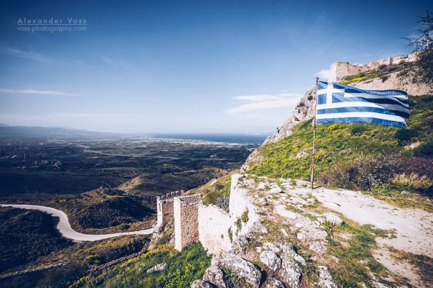Acrocorinth (Peloponnese, Greece)