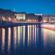 Berlin – Kapelle-Ufer at Night